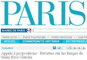 Appel à Propositions - Berges sur Seine